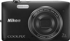 Nikon Coolpix S3500 Point & Shoot