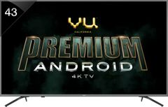 Vu 43-OA 43-inch Ultra HD 4K Smart LED TV