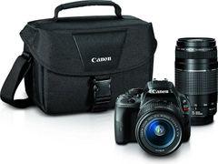 Canon EOS Rebel SL1 Digital SLR (18-55mm STM + 75-300mm Lens)