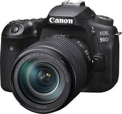 Canon EOS 90D 32.5 MP DSLR Camera with 18-135 mm Lens