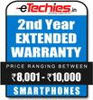 Etechies SmartPhone 1 Year Extended Basic Protection (For Device Worth Rs 8001 - 10000)