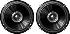 "Sound Boss SB-1615 6"" Dual Performance Auditor 250W Max Coaxial Car Speaker (Black)"