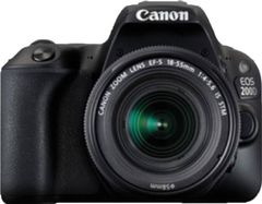 Canon EOS 200D DSLR Camera (EF-S 18-55 IS STM Lens)