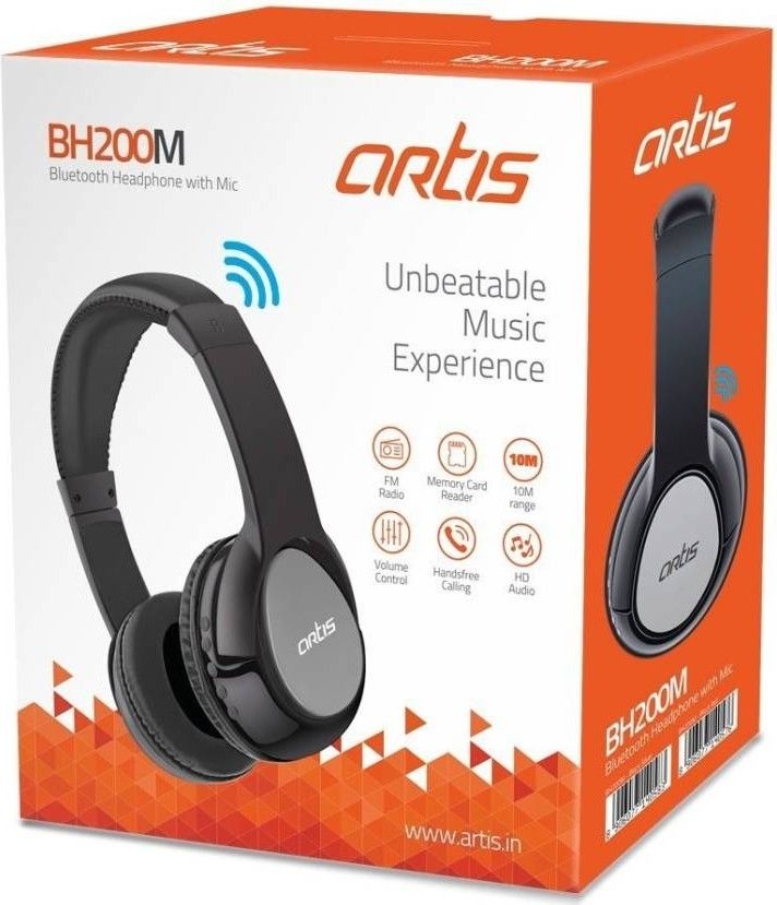 Artis Bh200m Wireless Bluetooth Headset With Mic Best Price In India 2020 Specs Review Smartprix