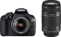 Canon EOS 1200D DSLR Camera (EF-S 18-55 IS II + 55-250mm IS II)