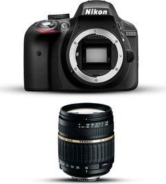 Nikon D3300 with Tamron 18-200mm Lens