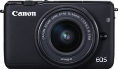 Canon EOS M10 Mirrorless Camera (EF-M15-45mm Lens)