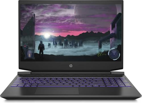 HP Pavilion 15-EC2076AX Gaming Laptop (AMD Ryzen 7 5800H/ 16GB/ 512GB SSD/ Win10 Home/ 4GB Graph)