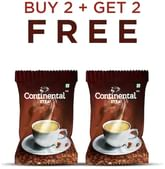Continental XTRA Instant Coffee Powder 50g Sachet PACK OF 2 (BUY 2 + GET 2 FREE)