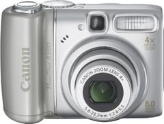 Canon PowerShot A580 8MP Digital Camera