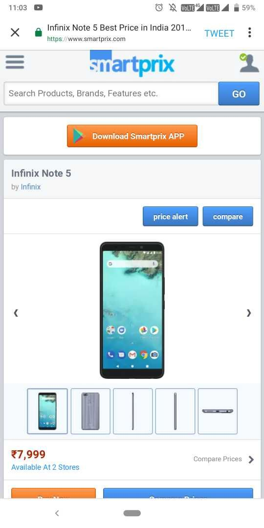 Infinix Note 5 Best Price in India 2019, Specs & Review | Smartprix