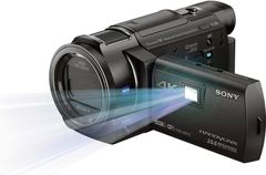 Sony FDR-AXP35 4K Camcorder with Built-In Projector