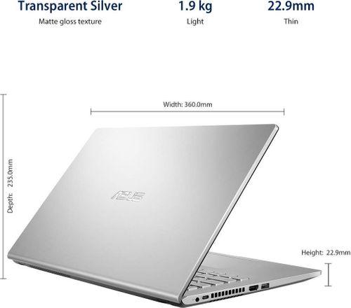 Asus M515DA-BQ502TS Laptop (AMD Ryzen 5/ 8GB/ 1TB HDD/ Win10 Home)