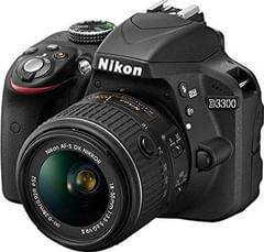 Nikon D3300 24.2MP Digital SLR (AF-S 18-55mm VR Kit Lens II + AF-S 55-200mm VR Kit Lens)