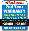 Etechies SmartPhone 1 Year Extended Accidental Damage Protection (For Device Worth Rs 30001 - 35000)