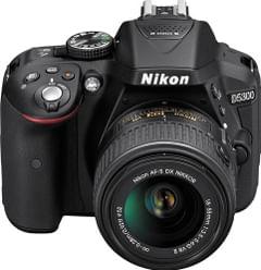 Nikon D5300 DSLR Camera (AF-S 18-55mm VR II Kit Lens)