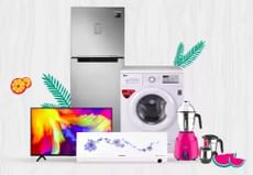 Grand Appliances Fest: Upto 75% OFF + Extra 10% OFF On Axis Bank Cards