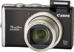 Canon Powershot SX200 Advanced Point & Shoot Camera