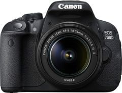 Canon EOS 700D DSLR (EF-S 18-55mm IS II)