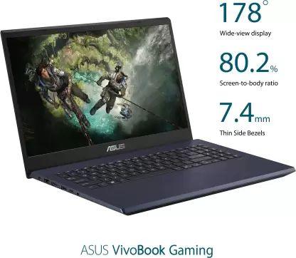 Asus VivoBook F571GT-BQ619T Gaming Laptop (8th Gen Core i5/ 8GB/ 512GB SSD/ Win10 Home/ 4GB Graph)