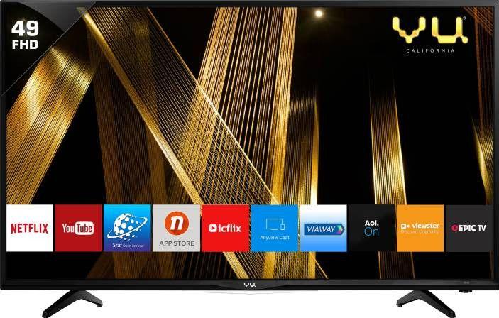 Vu 49s6575 49 Inch Full Hd Led Smart, Does Vu Tv Have Screen Mirroring