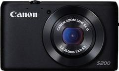Canon PowerShot S200 Point & Shoot