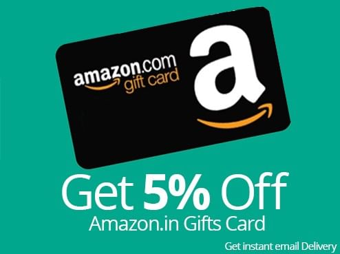 Eid Offer Get 5 Off On Amazon Email Gift Cards Smartprix