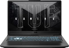 Asus TUF Gaming F17 FX706HC-HX070T Gaming Laptop (11th Gen Core i5/ 8GB/ 1TB SSD/ Win10 Home/ 4GB Graph)
