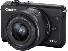 Canon EOS M200 Mirrorless Camera with EF-M15-45mm f/3.5-6.3 IS STM