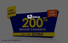 Get 200% Cashback on First Time Add Money of Rs. 10 or More