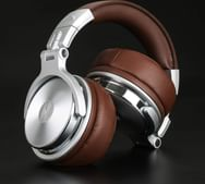 Over Ear Headphone, Wired Stereo Sound Headsets with 50mm Driver, Foldable Comfortable Headphones