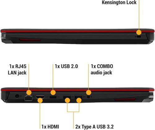 Asus TUF FX505GD-BQ316T Gaming Laptop(8th Gen Core i5/ 8GB/ 1TB/ Win10 Home/ 4GB Graph)