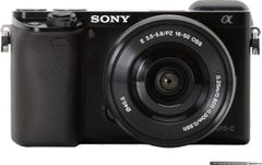Sony Alpha ILCE-6000 Mirrorless Camera (16-50mm Lens)