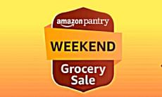 Amazon Pantry Weekend Sale: Extra 15% OFF on Axis Bank Cards