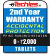 Etechies Tablets 1 Year Extended Accidental Damage Protection For Device Worth Rs 0 - 2000