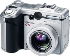 Canon PowerShot G6 7.1MP Digital Camera