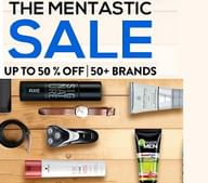 Upto 50% OFF on Personal Care Products for Men on Various Brands