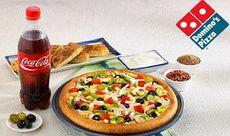 Choose any 2 Medium Pizzas Starting at Rs. 199