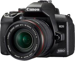 Canon EOS 500D SLR (Kit EF-S 18-55mm f/3.5-5.6 IS Lens)