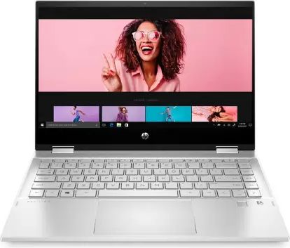 HP Pavilion x360 14-dw1037TU Laptop (11th Gen Core i3/ 8GB/ 512GB SSD/ Win10 Home)