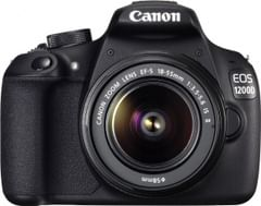 Canon EOS 1200D DSLR Camera (EF-S 18-55 IS II)