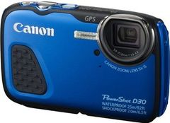 Canon PowerShot D30 12.1MP Waterproof Digital Camera