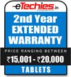 Etechies Tablets 1 Year Extended Basic Protection For Device Worth Rs 15001 - 20000
