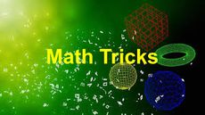 Simple Maths Tricks for Kids