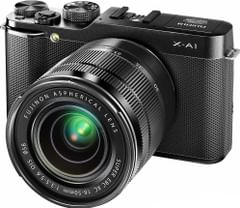 FUJIFILM XA-1 WITH XC 16-50MM F 3.5-5.6 OIS ZOOM LENS BLACK WITH VAT BILL + 2YRS FUJI INDIA WARRANTY FREE 4 GB CARD