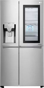 LG GC-X247CSAV 668 L Side-by-Side Refrigerator