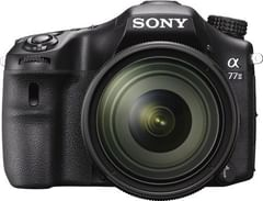 Sony Alpha ILCA-77M2 DSLR Camera (Body with SAL1650 Lens)