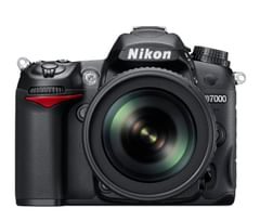 Nikon D7000 DSLR Camera (18-55mm + 55-200mm VR II Lens)