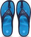 Redx Blue Unisex Acupressure Open-Back Relax Slipper and Flip Flops (Blue, 8 UK)