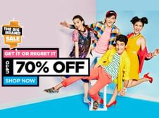 Upto 70% OFF On Top Brands Products